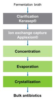 Novasep Bulk Antibiotics Manufacturing Process