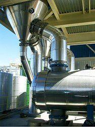 Novasep Industrial Evaporation Unit